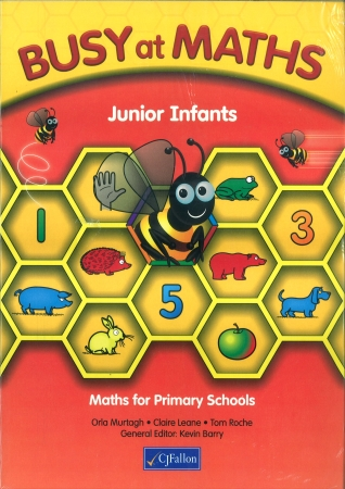 Busy At Maths Junior Infants Pack - Pupil Book & Home School Links Book