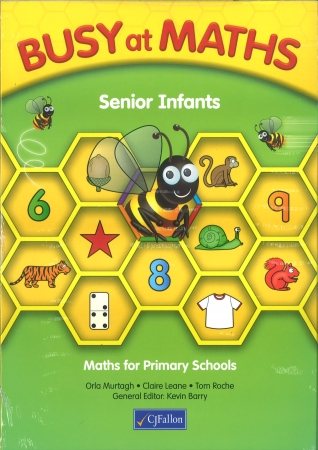 Busy At Maths Senior Infants Pack - Pupil Book & Home School Links Book