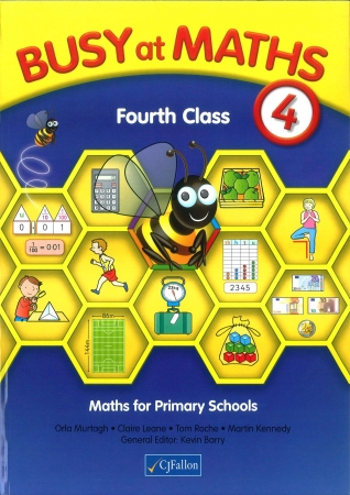 Busy At Maths 4th Class - Textbook