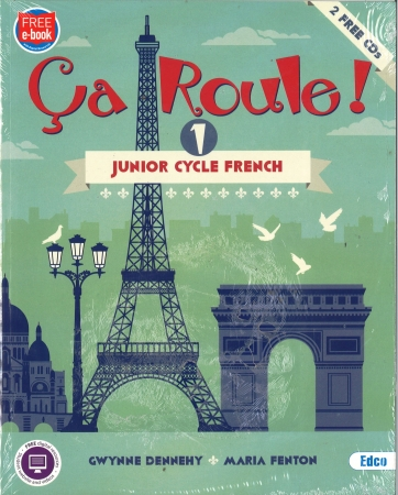 Ça Roule! 1 Pack - Textbook & Workbook - Junior Cycle French - Includes Free eBook