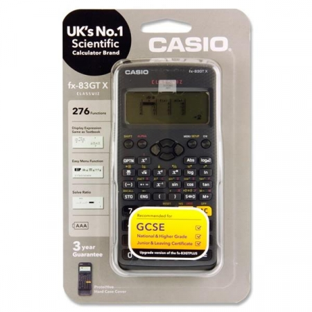 Casio Scientific Calculator FX-83GT X