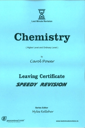 Last Minute Revision LC Chemistry - Higher & Ordinary Level