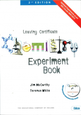 Chemistry Experiment Book - 2nd Edition - Leaving Certificate Chemistry
