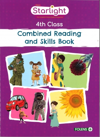 Combined Reading & Skills Book - Starlight - Fourth Class