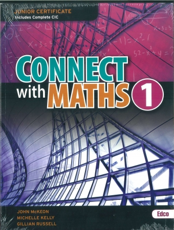 Connect With Maths 1 Pack - Junior Certificate Maths Ordinary Level - Textbook & Workbook - Includes Free eBook