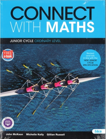 Connect With Maths Pack - Junior Cycle Maths Ordinary Level - Textbook & Workbook - Includes Free eBook