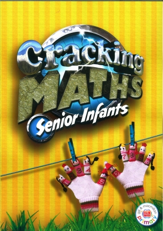 Cracking Maths Senior Infants Pack - Textbook & School/Home Link Workbook