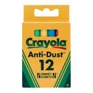 Crayola Chalk Anti-Dust 12 Pack Coloured