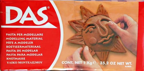 Das Modelling Clay Terracotta 1Kg