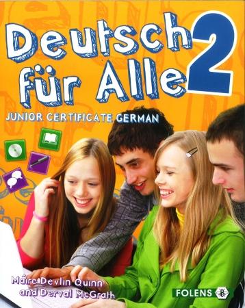 Deutsch Für Alle 2 - Textbook & Cd - Junior Certificate German
