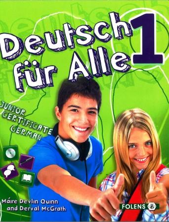 Deutsch Für Alle 1 - Textbook & Cd - Junior Certificate German