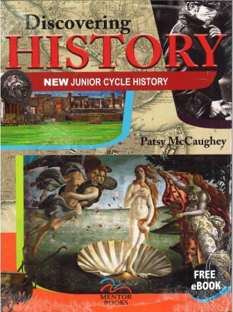 Discovering History -Textbook & Activity Book -  New Junior Cycle History - Includes Free eBook