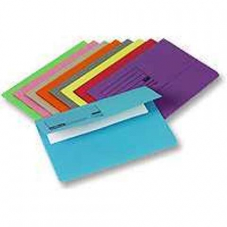 Document Wallet A4 Envelope Assorted Colours