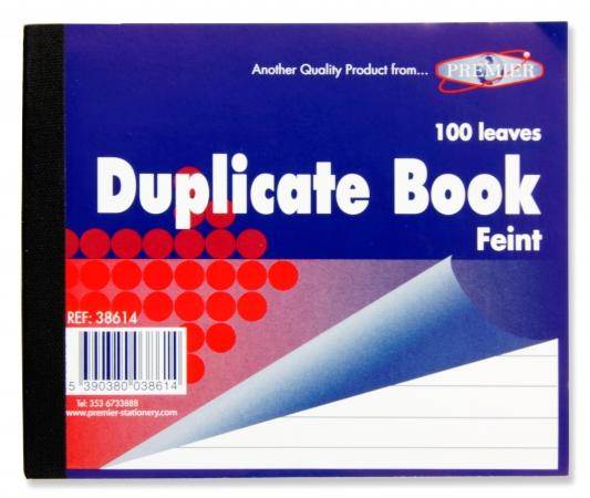 "Duplicate Book Feint 5""x3"" - Carbon Paper"