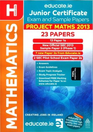 Junior Cert Maths Higher Level - Includes 2013 Official Exam Paper