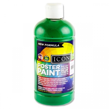 Poster Paint Emerald Green 500ml