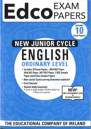 Junior Cert English Ordinary Level - Includes 2019 Exam Papers