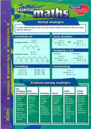 Essential Study Guide Maths: Numbers/Algebra/Strategies