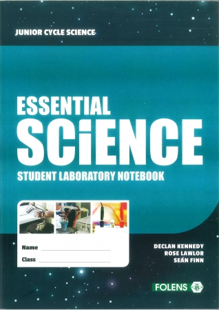 Essential Science Student Laboratory Notebook - Junior Cycle Science