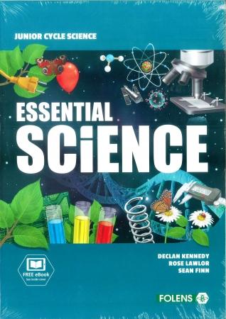 Essential Science Pack - Textbook, Workbook & Student Laboratory Workbook - Junior Cycle Science