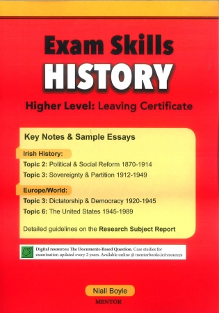 Exam Skills History - Higher Lever: Leaving Certificate