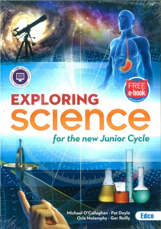 Exploring Science Pack - Textbook & Student Portfolio Book - Junior Cycle Science - Includes Free eBook