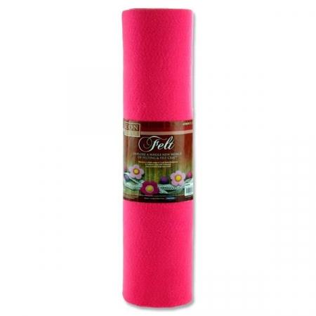 Felt Roll 45cm X 5m - Pink