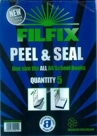 Filfix Peel & Seal Cover A4 - 5 PacK