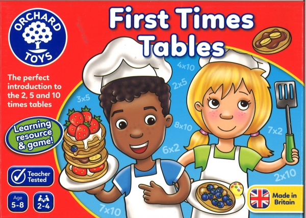 First Time Tables