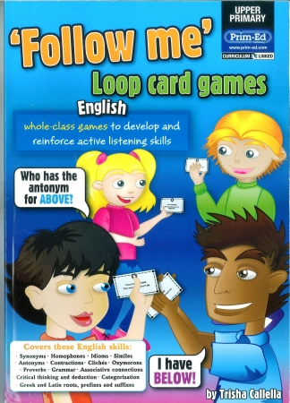 Follow Me Loop Card Games English - Upper Primary