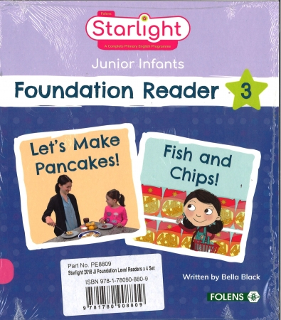 Foundation Readers Four Pack - Starlight Junior Infants
