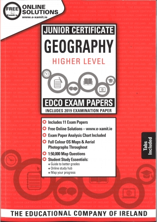 Junior Cert Geography Higher Level - Includes 2019 Exam Papers