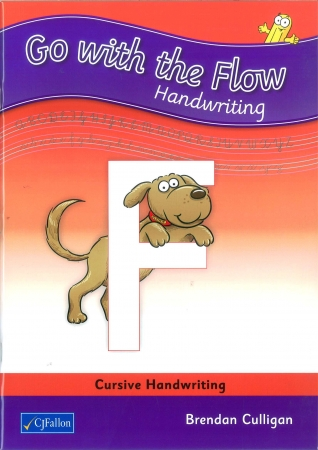 Go With The Flow F - Cursive Handwriting - Fourth Class