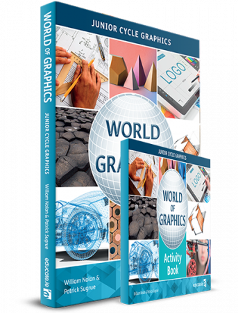 World Of Graphics Pack - Textbook & Activity Book - Junior Cycle Graphics