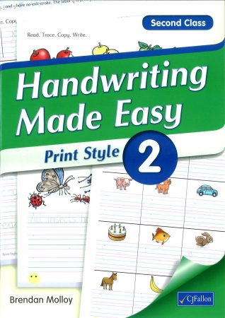 Handwriting Made Easy 2 - Print Style - Second Class
