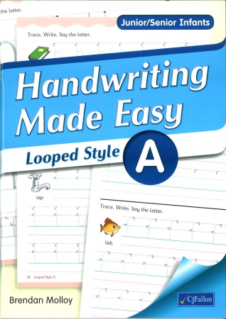 Handwriting Made Easy A - Looped Style - Junior & Senior Infants