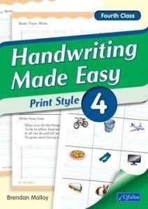 Handwriting Made Easy 4 - Print Style - Fourth Class