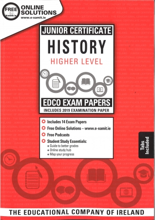Junior Cert History Higher Level - Includes 2019 Exam Papers