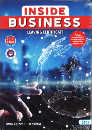 Inside Business Pack - Textbook &Student Activity Book - Leaving Certificate - Includes Free eBook