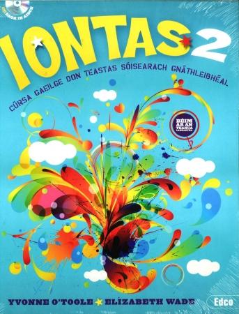 Iontas 2 Pack - Textbook & Workbook - Junior Certificate Irish Ordinary Level - Includes Free eBook