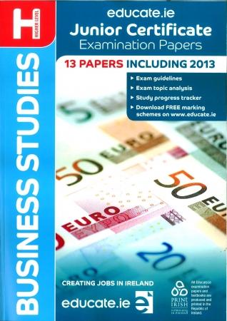 Junior Cert Business Studies Higher Level - Includes 2016 Exam Paper