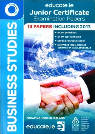 Junior Cert Business Studies Ordinary Level - Includes 2016 Exam Paper
