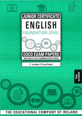 Junior Cert English Foundation Level - Includes 2015 Exam paper