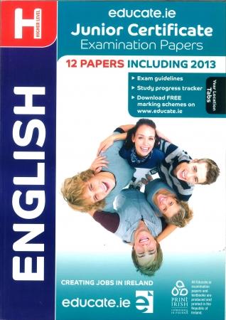 Junior Cert English Higher Level - Includes 2014 Exam Paper