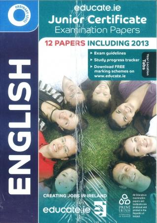 Junior Cert English Ordinary Level - Includes 2014 Exam Paper