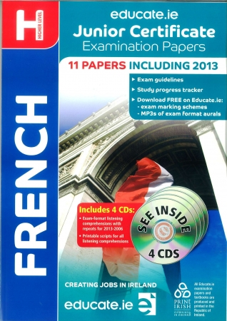 Junior Cert French Higher Level - Includes 2016 Exam Paper