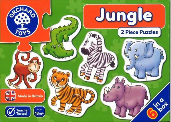 Jungle 2 Piece Jigsaw