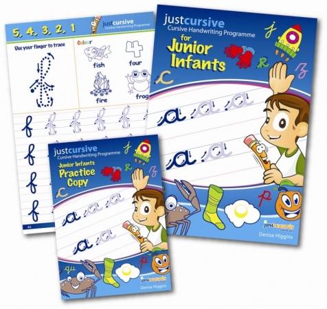 Just Cursive Handwriting Set Jun Infants