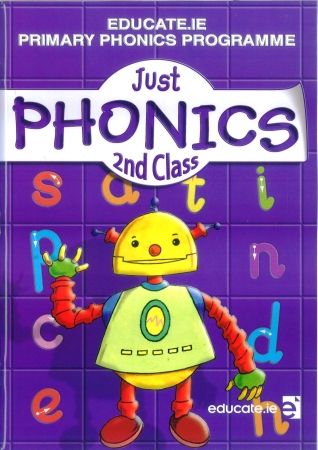 Just Phonics 2nd Class Pack - Workbook & My Spelling Booklet - Second Class