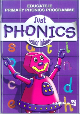 Just Phonics Senior Infants Pack - Workbook & Sounds Booklet